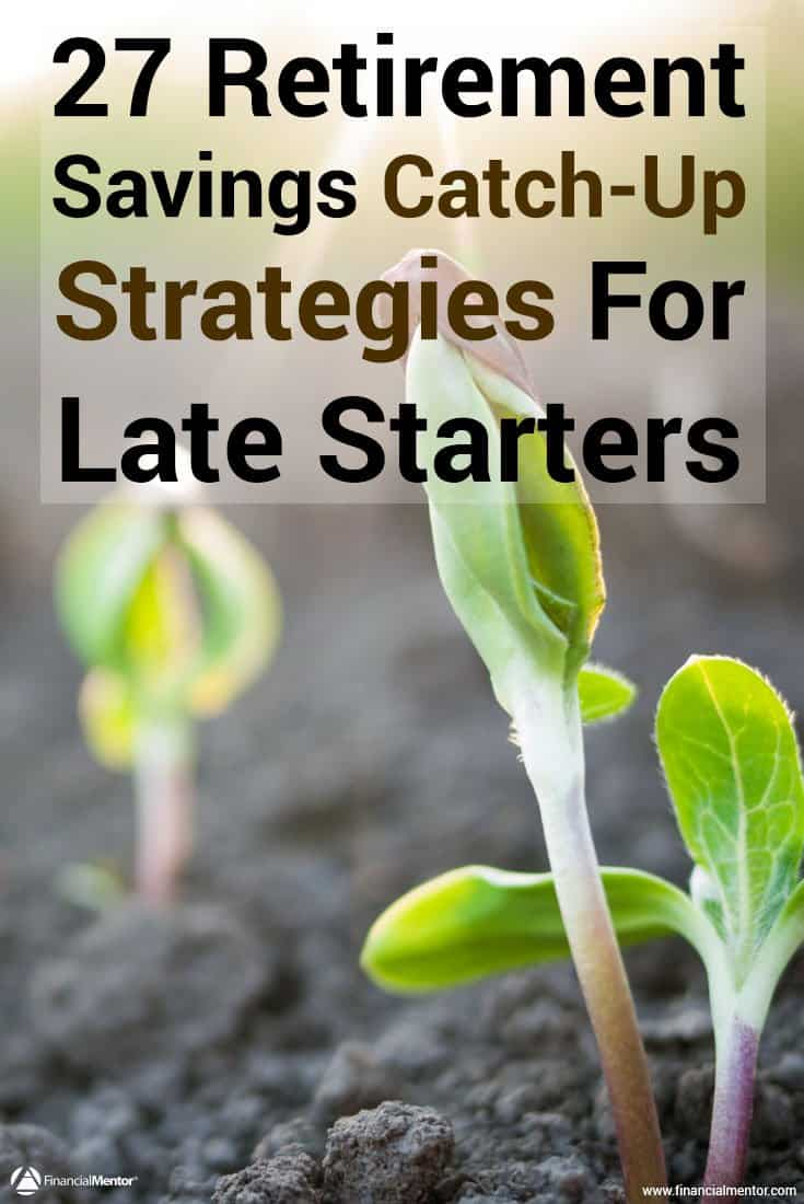 Catch-up on saving money for retirement with this free late-starters guide to retirement savings. You'll discover 6 tactics and 27 strategies to put your...