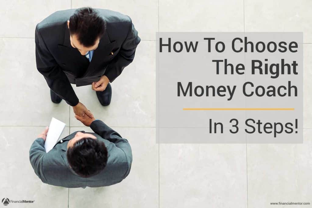 3 steps to choosing the right money coach image