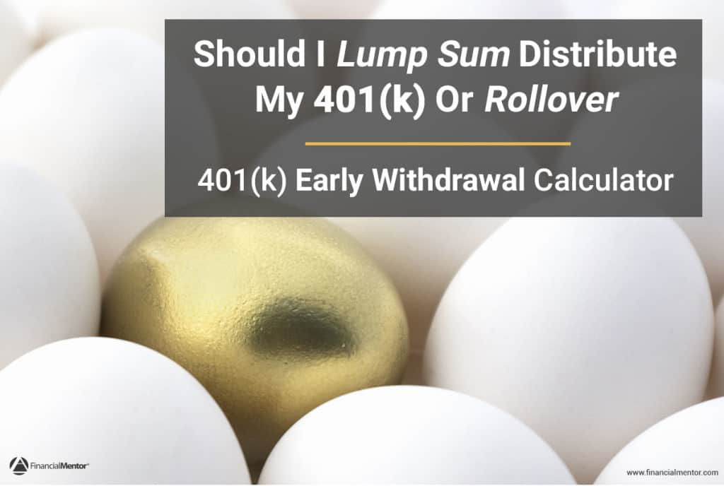 401(k) Early Withdrawal Calculator image