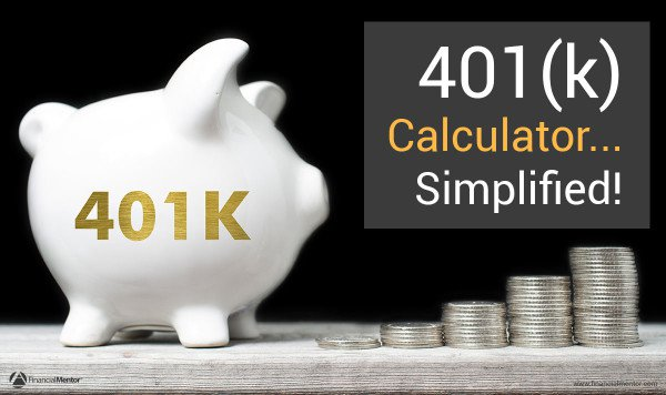 401(k) calculator... simplified image