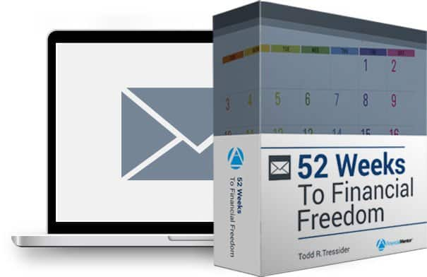 52 Weeks To Financial Freedom Email Course Image