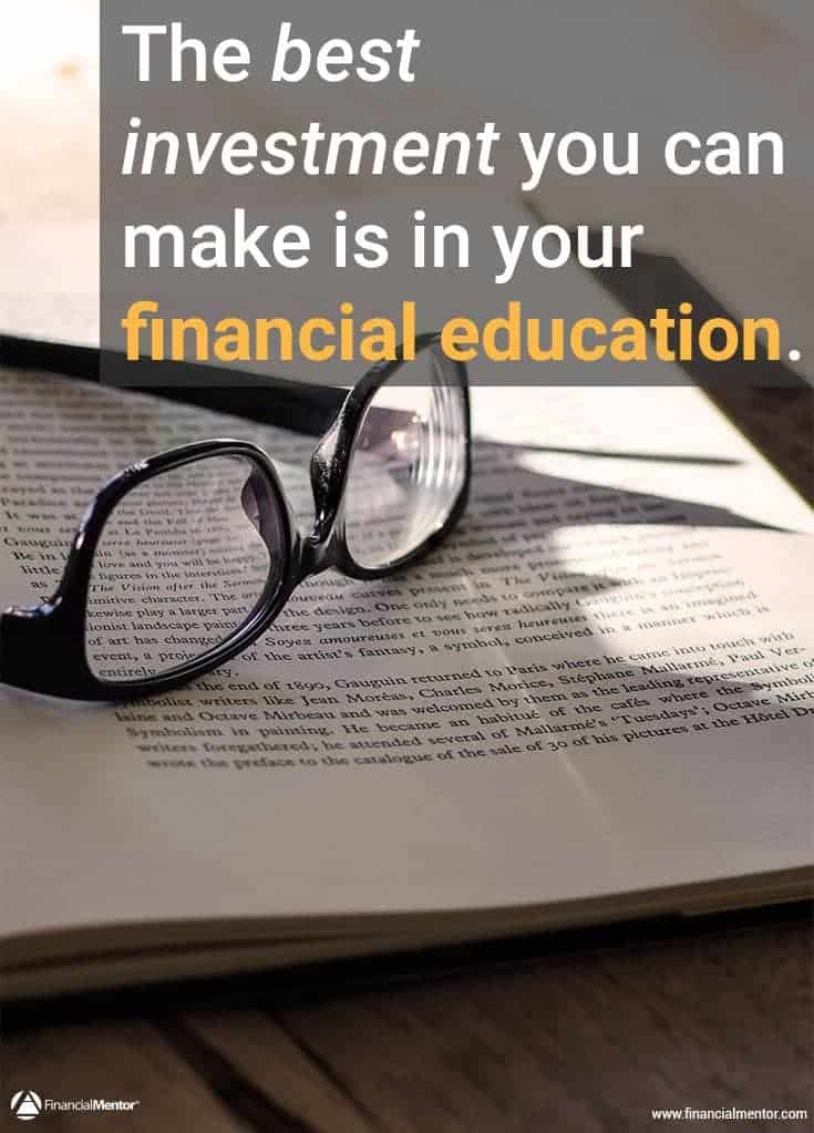 Buying financial education and getting the best value out of it image