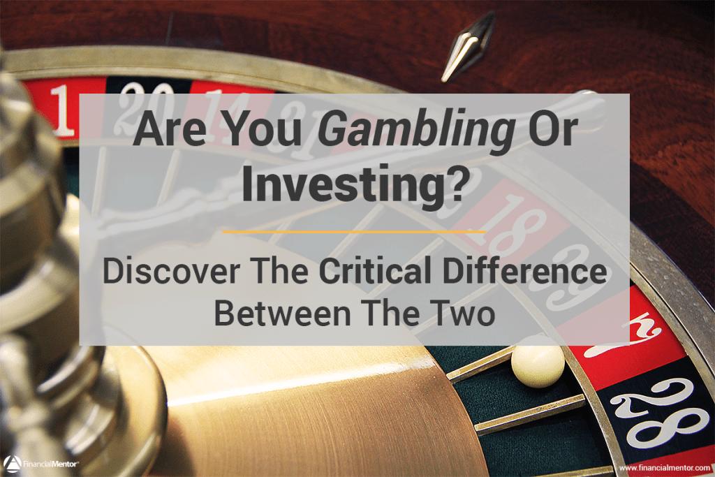 Gambling or Investing Image