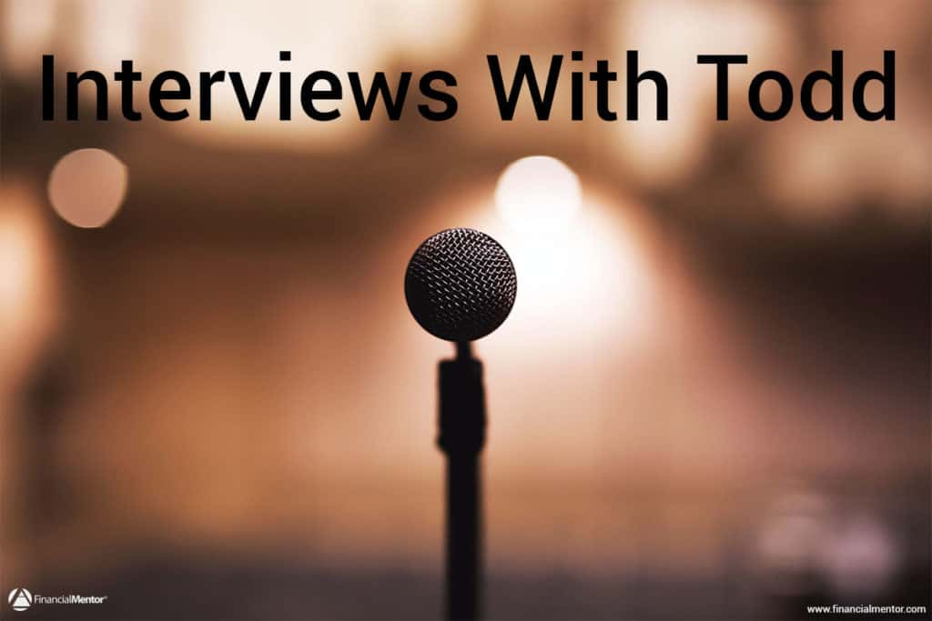 Audio interviews from around the web featuring Todd Tresidder of Financial Mentor sharing unique insights on retirement planning and investment strategy...