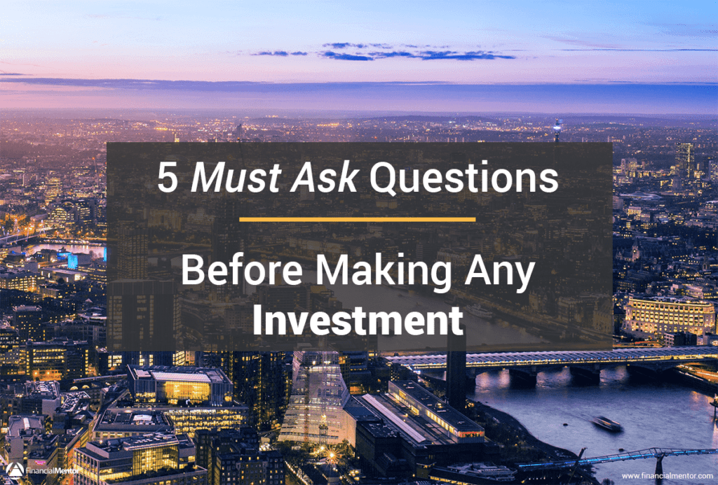 "Investment due diligence separates the amateurs from the pros. Learn the five ""must ask"" due diligence questions to improve profits."