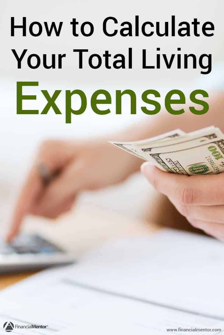 When you're working on creating a budget, you need to know how much money you spend each month on your living expenses. This calculator will help you total up all your expenses so you can begin budgeting today.