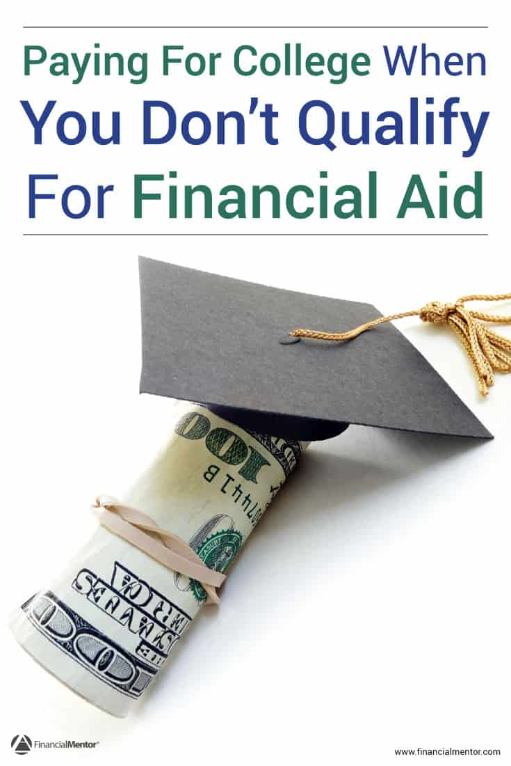 The cost of college has been on an upward trend for the past several years, and there's no sign of it stopping. This can make the task of paying for college seem daunting, especially when you're in a position that disqualifies you for financial aid. Thankfully, there are many legitimate ways to make college more affordable. You'll discover them in this podcast.
