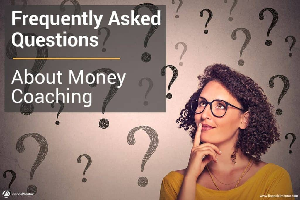Frequently Asked Questions about financial coaching image