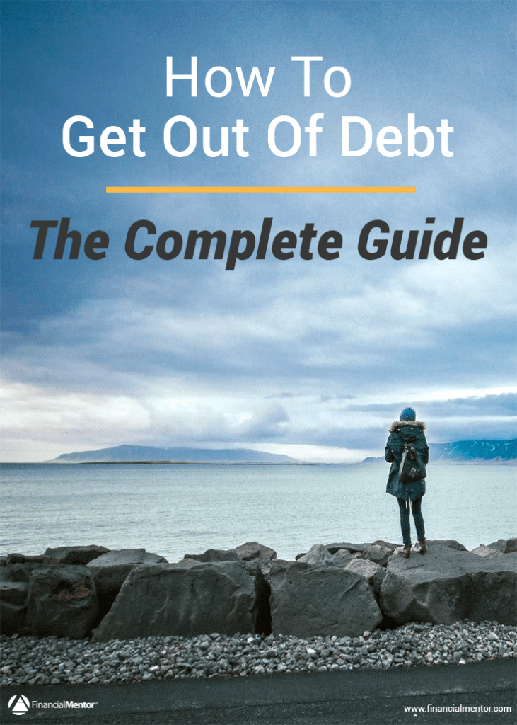 how to get out of debt image