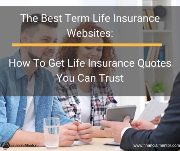 A couple sitting at a table discussing life insurance options