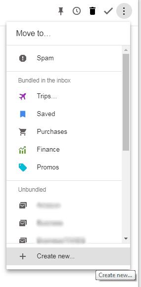 Inbox by Gmail whitelist