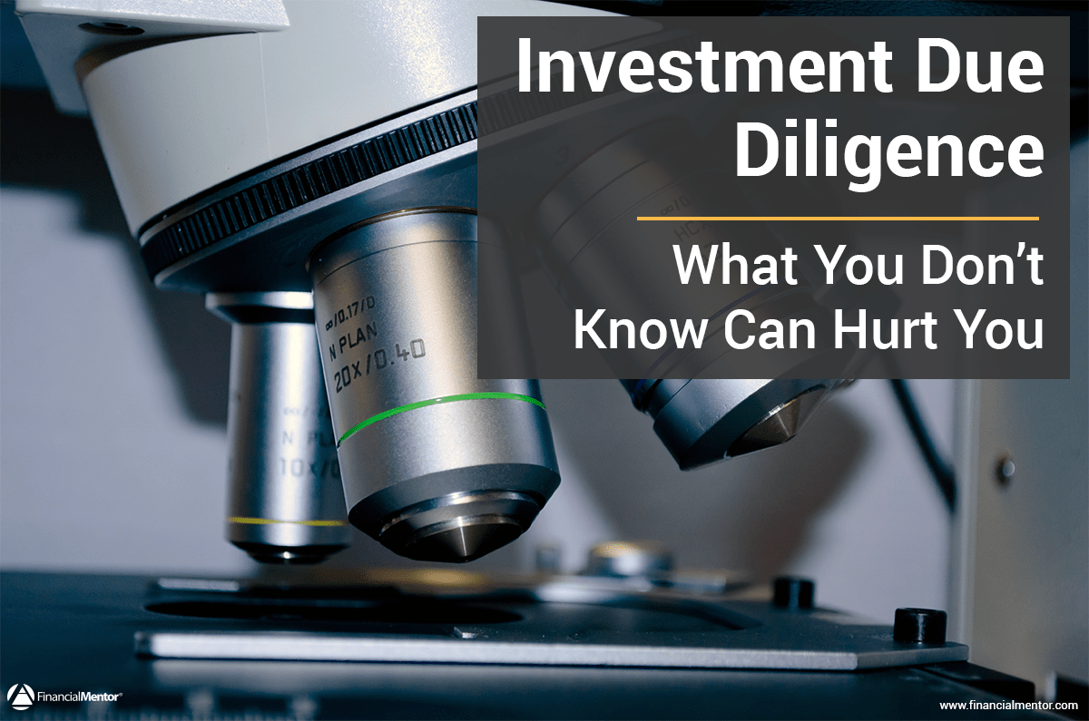 Investment Due Diligence Image