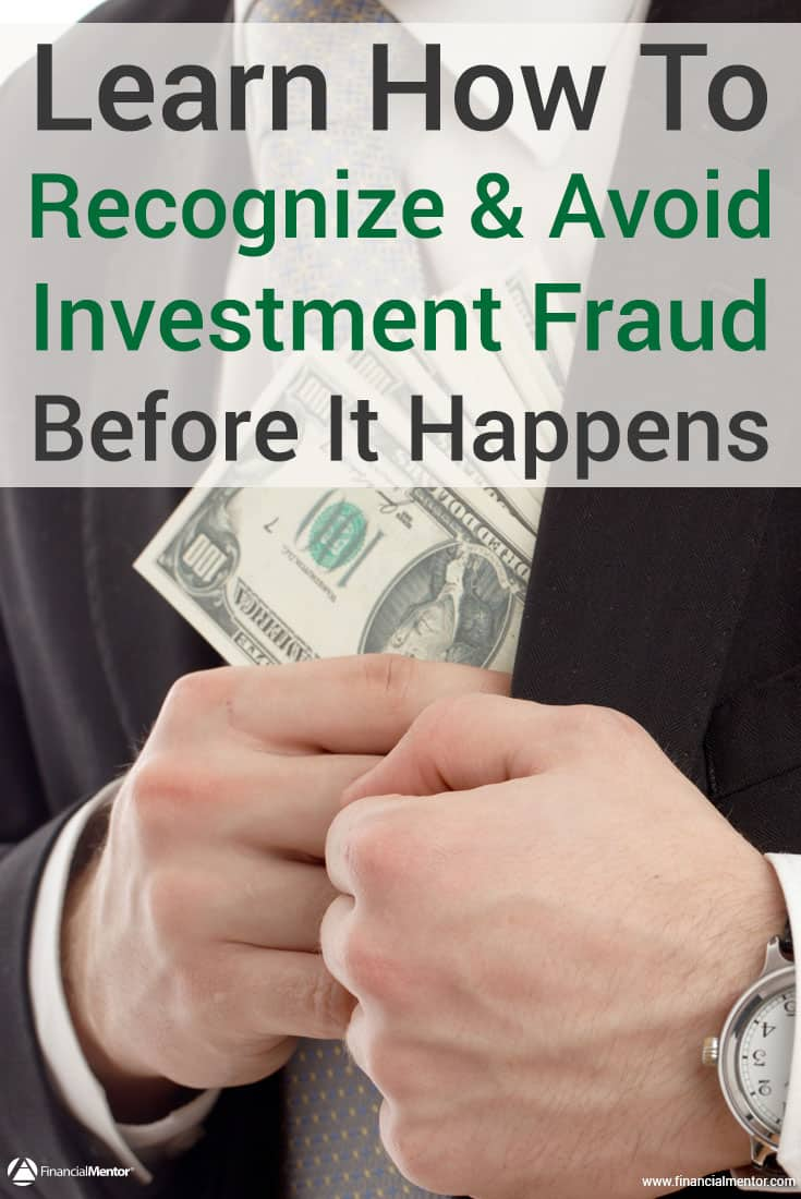 How to avoid investment fraud before you become the next victim with these free resources. Also, how to solve the problem if you're already a victim...