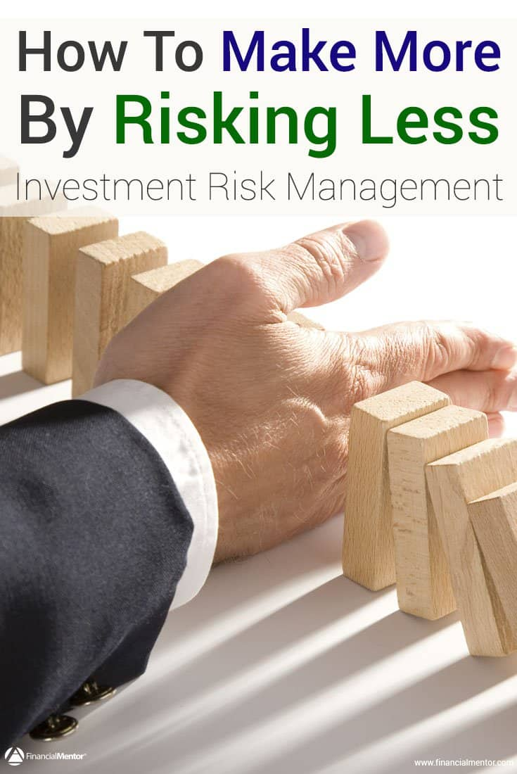 Investment risk management teaches you how to make more by risking less on your investments. Develop your own risk management plan with these resources...
