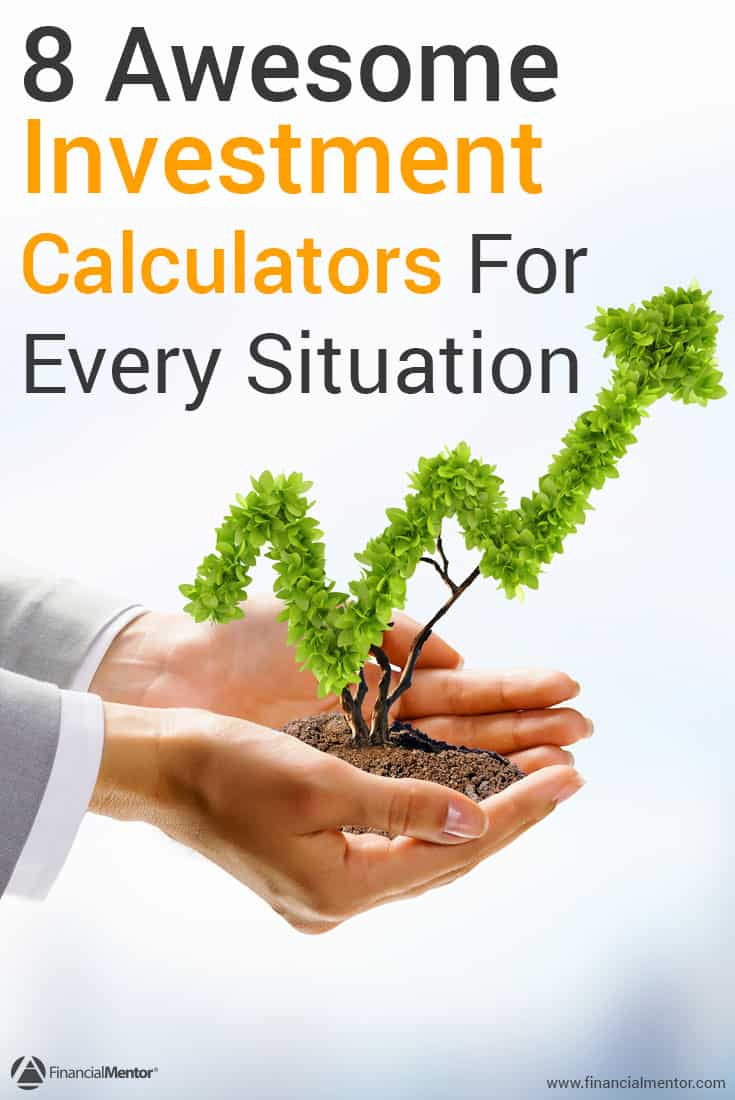This free collection of investment calculators can help you figure out everything from returns on real estate investments, present and future values of annuities, compound interest, and more!
