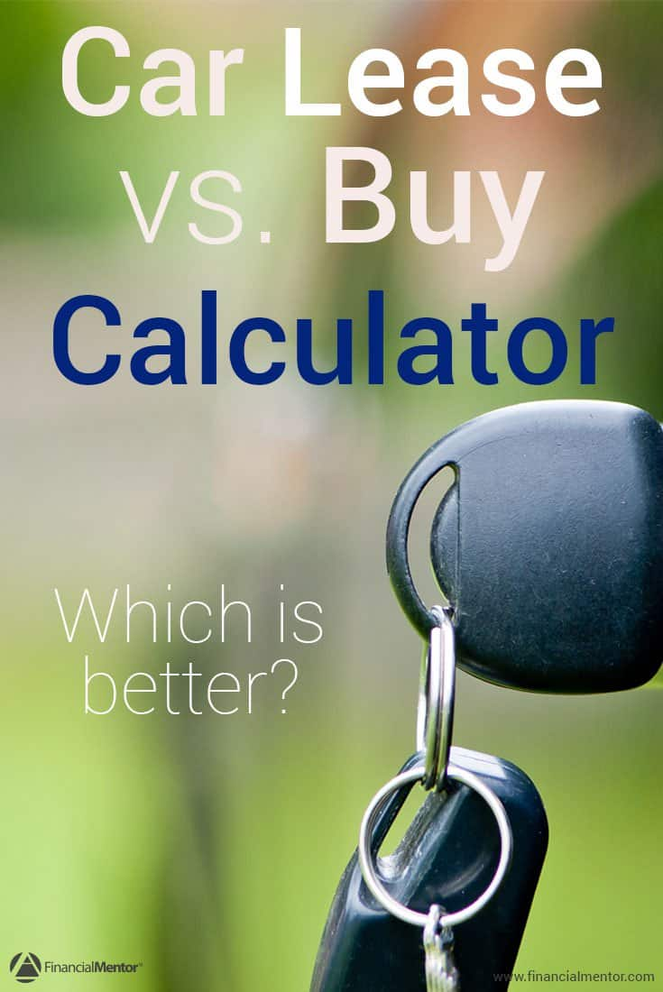 lease vs buy car calculator