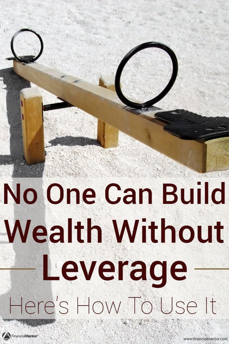 Leverage is the essential tool to building wealth. It's how you get more done with fewer resources. Financial, technology, and time leverage are all examples...
