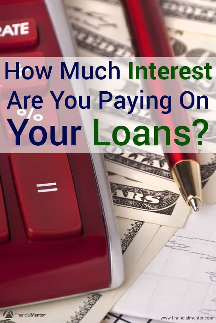 Did you know that part of your monthly payment toward your loans goes toward interest, and not principal? You could be losing a lot of money to interest. Find out how much interest you're paying on your loans, and how to reduce that amount.