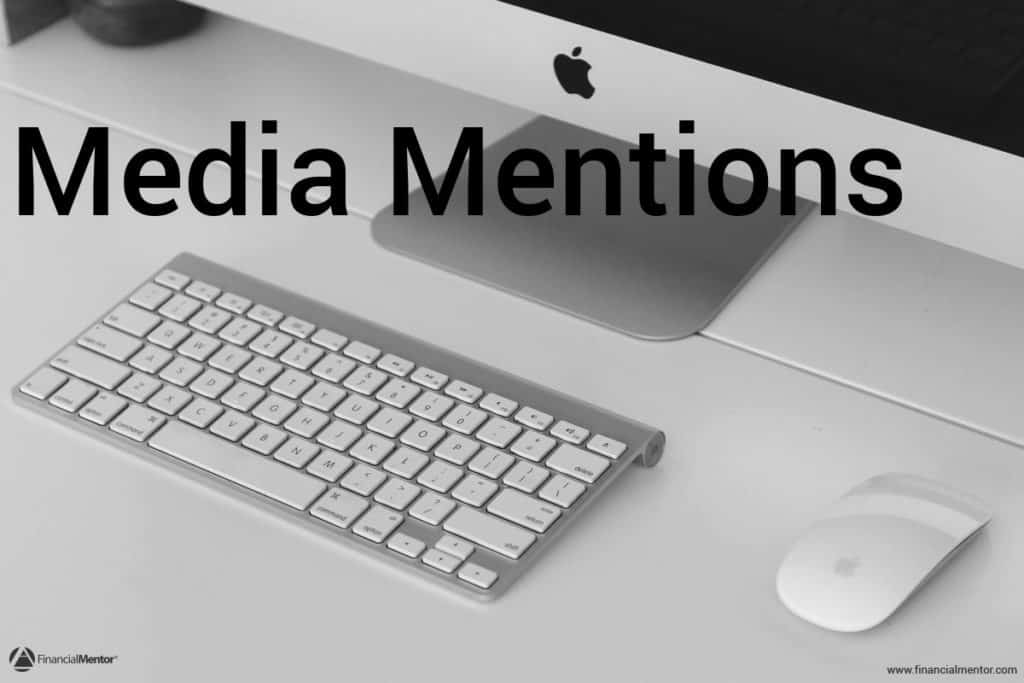 Browse through the press archives of Financial Mentor. This collection lists media mentions featuring Todd Tresidder.