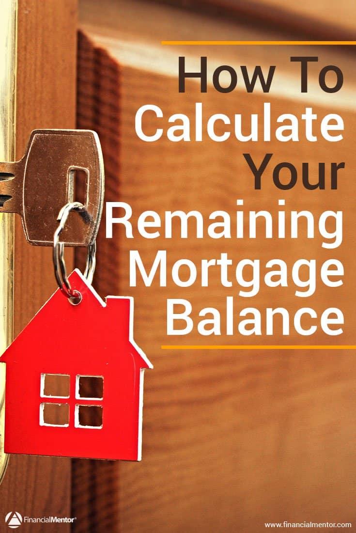 mortgage balance calculator