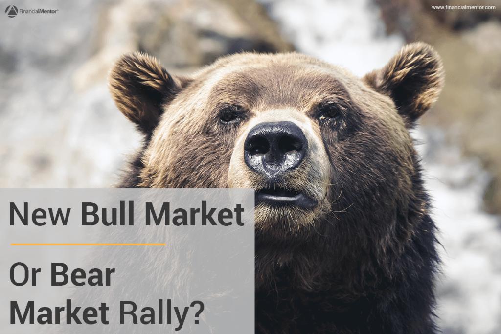 bear market rally image