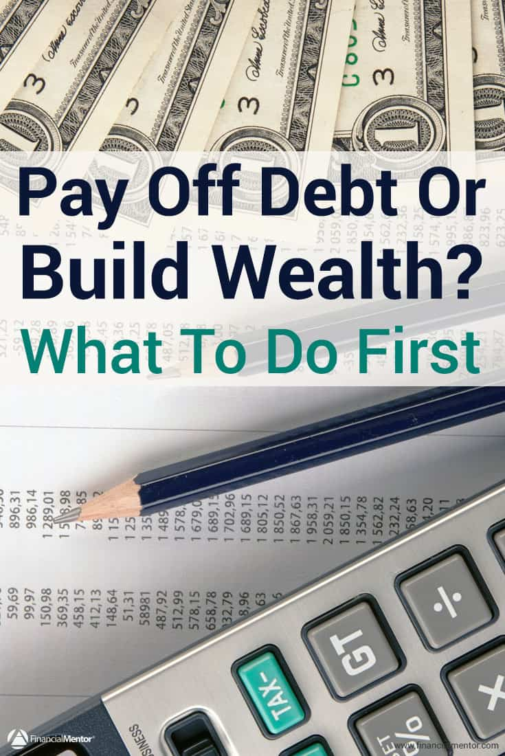 pay off debt first or focus on savings which is higher priority and why