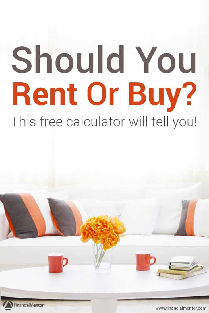 rent vs. buy calculator - compares renting vs. buying costs