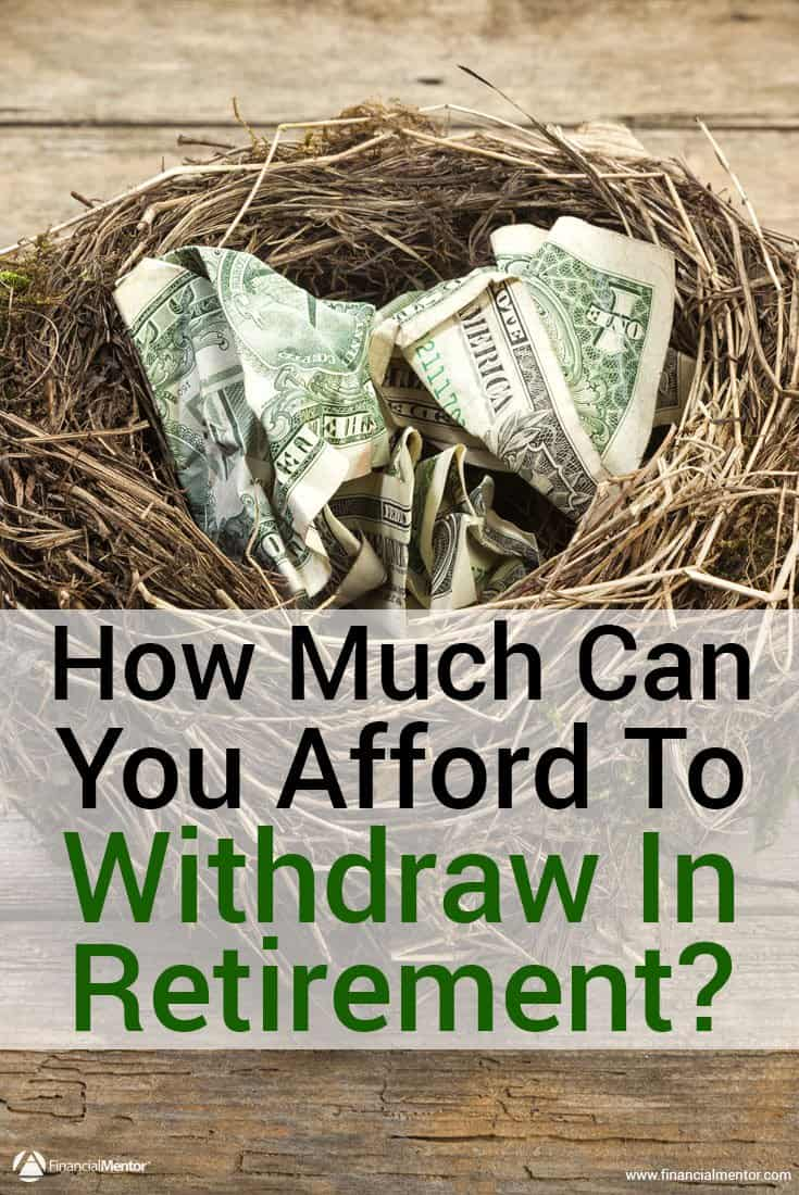 Retirement income planning is one of the most complex and controversial aspects in financial planning. Use this calculator to get a good estimate of how much you can afford to spend in retirement.