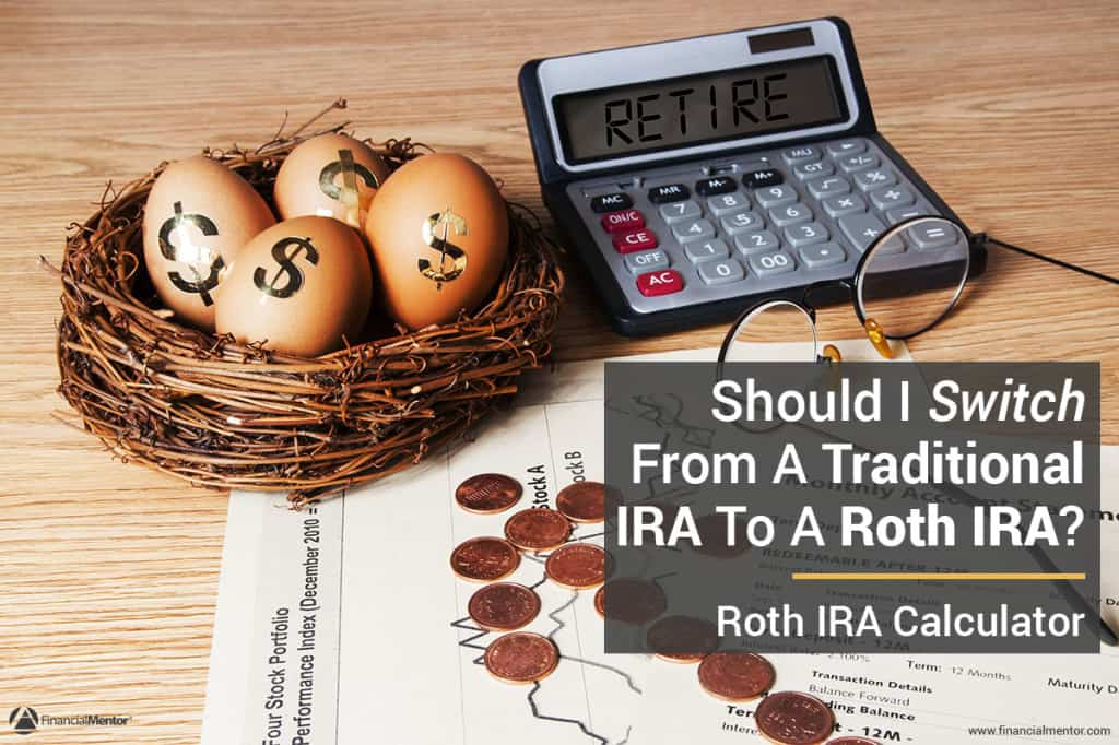 Roth IRA calculator image