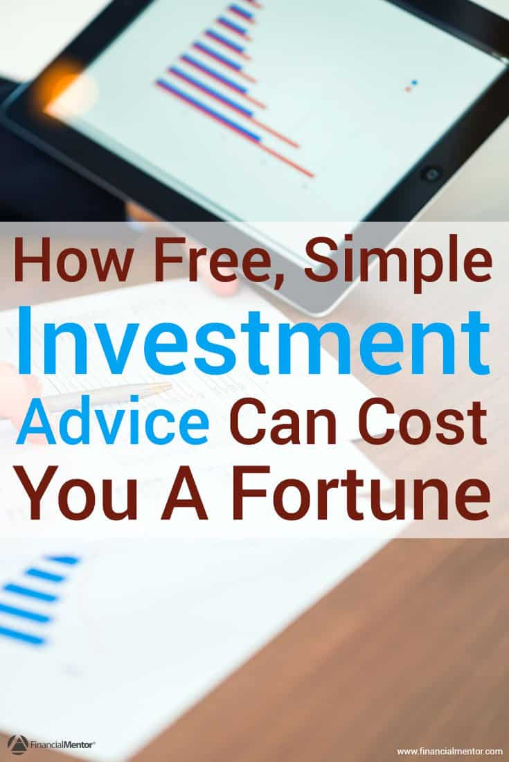 Free investment advice can cost you a fortune. Don't trust the media with sound-bite articles and simple investment strategies like buy and hold. Instead...