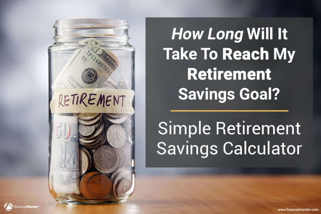 Simple Retirement Savings Calculator - Easy To Use