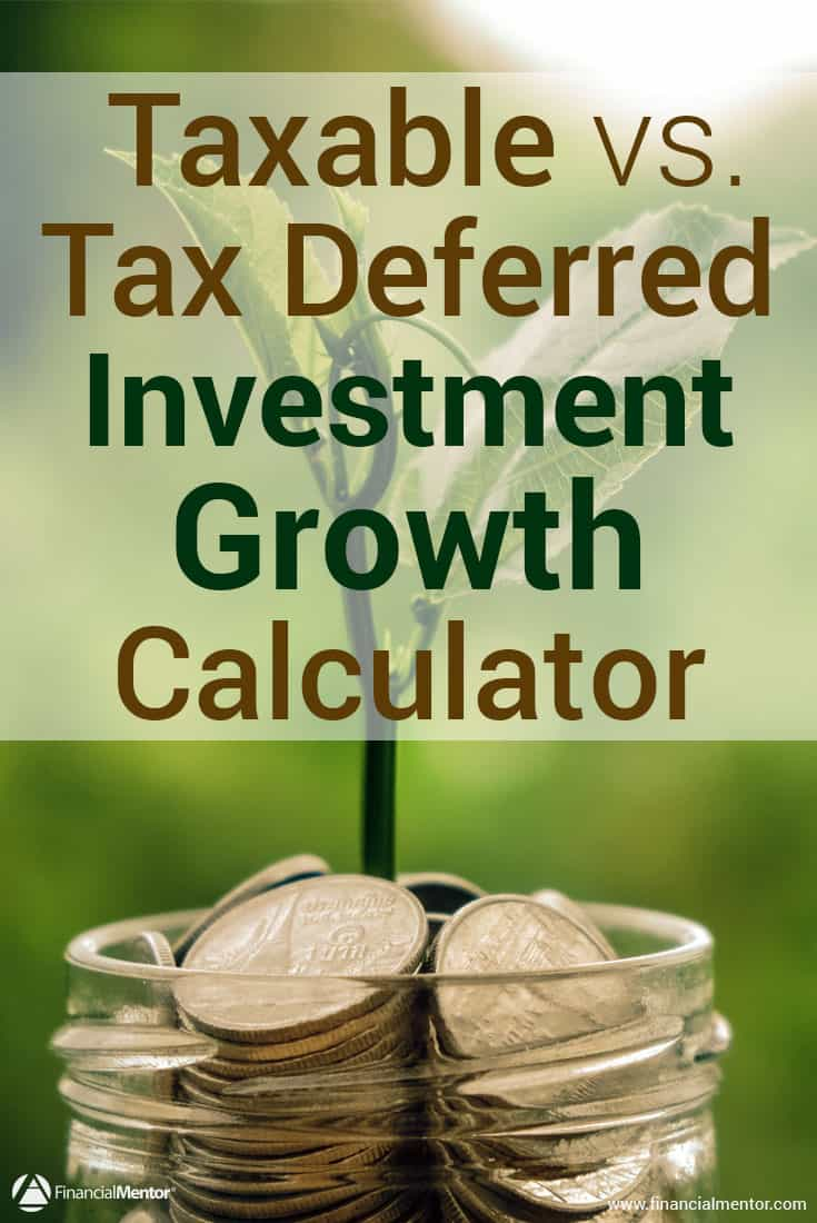 When it comes to planning for retirement, many people choose to invest in tax-deferred accounts. However, there are high costs associated with tax-deferred investments. This calculator will show you whether to go with taxable investments or tax-deferred investments.