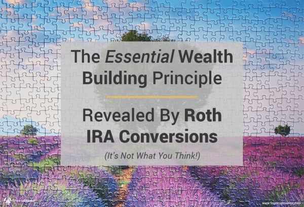 The Essential Wealth Building Principle Revealed By Roth IRA Conversions (It's Not What You Think!)