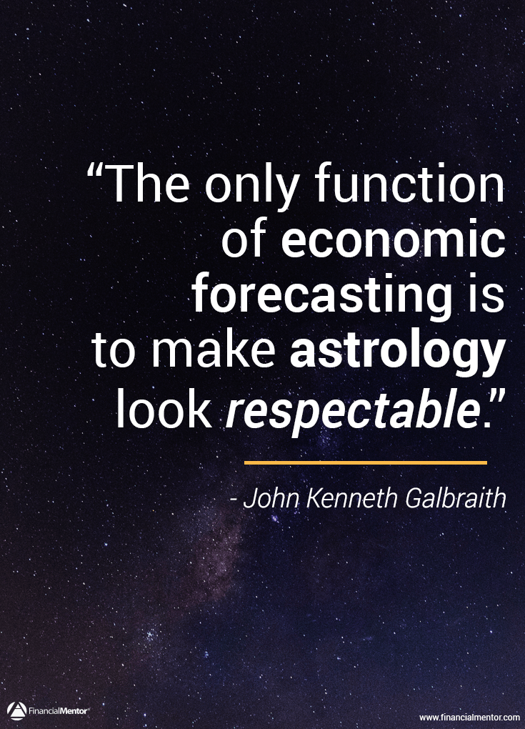 Why you need to ignore financial forecasting image