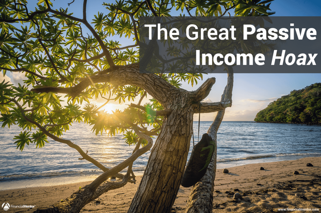 Business passive income isn't all it's cracked up to be. Most people have unrealistic ideas of what passive income is. Here's why it doesn't exist the way you think it does.