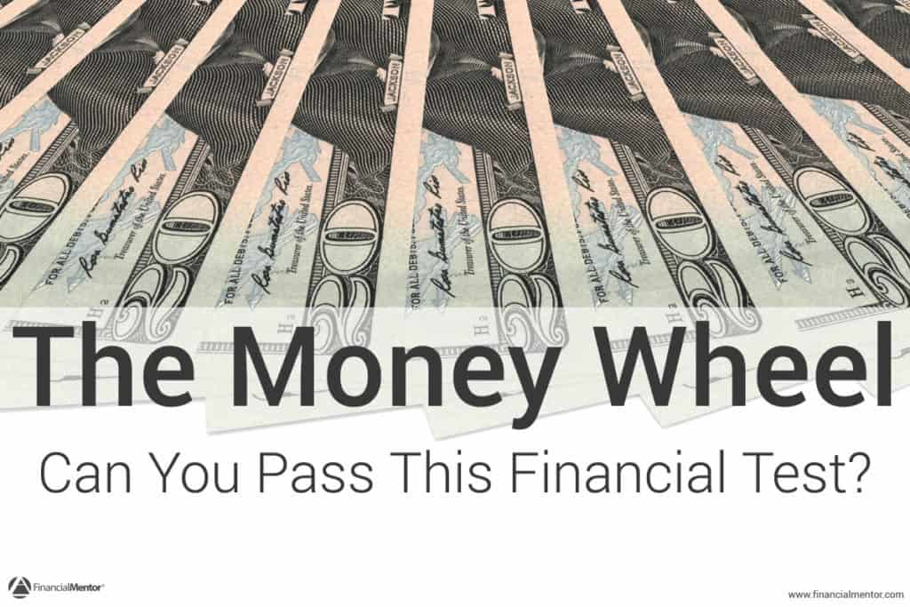 The Money Wheel is a free, fun, interactive self-test that shows the problems in your financial plan. Can you pass this test?