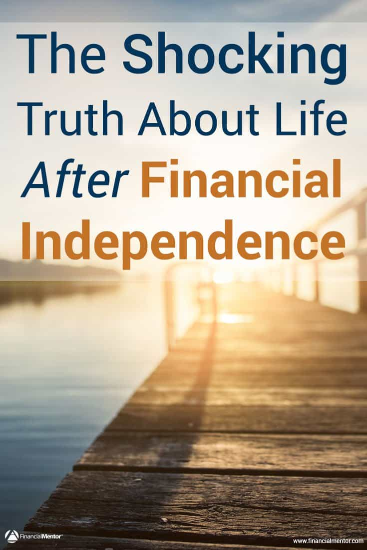 Post-career life - and similarly, achieving financial independence - is not what you expect. The idea that it's an endless vacation in permanent bliss is a myth. Many early retirees face a rude awakening without a career that gives purpose and defines your identity. Tess Vigeland and I discuss how to navigate this challenging time.
