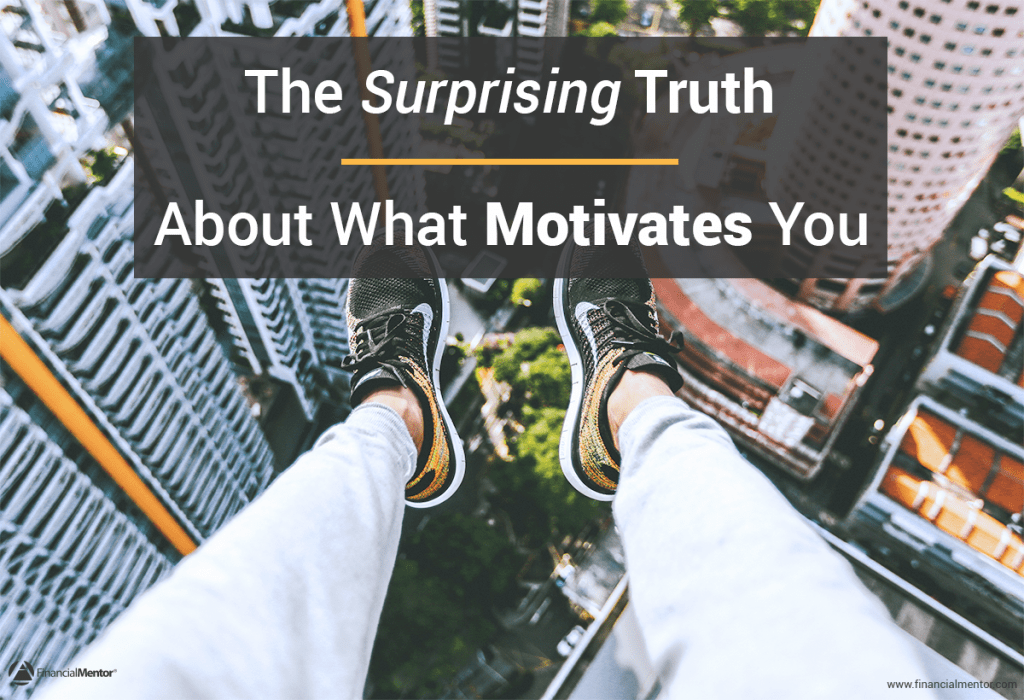 Intrinsic motivators are much more powerful than extrinsic motivators, such as earning more money. Financially successful people are motivated by intrinsic values. Are you one of them?