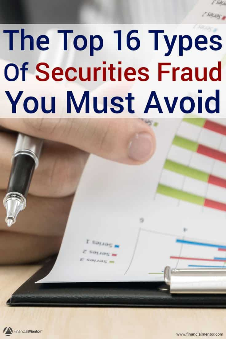 Securities fraud should be a real concern for any investor. Eventually you'll come across a con man or 'trusted' individual unknowingly selling a fraudulent investment. It's not a question of 'if,' but 'when.' Arm yourself with knowledge contained in this article.