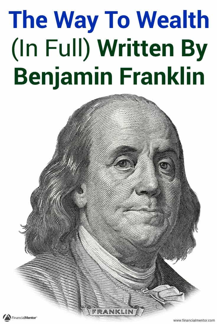 an analysis of the way to wealth by benjamin franklin Unlike most editing & proofreading services, we edit for everything: grammar, spelling, punctuation, idea flow, sentence structure, & more get started now.