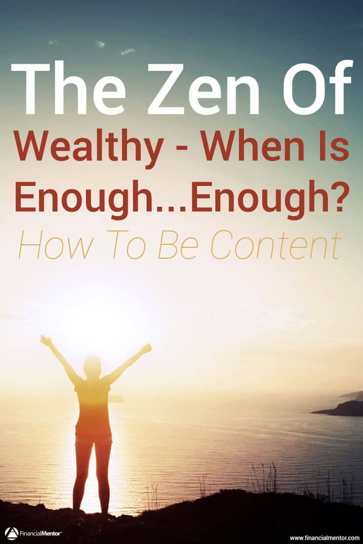 How much wealth is enough? When does more money equal less freedom and happiness? Discover how to find your personal sweet spot for becoming wealthy.