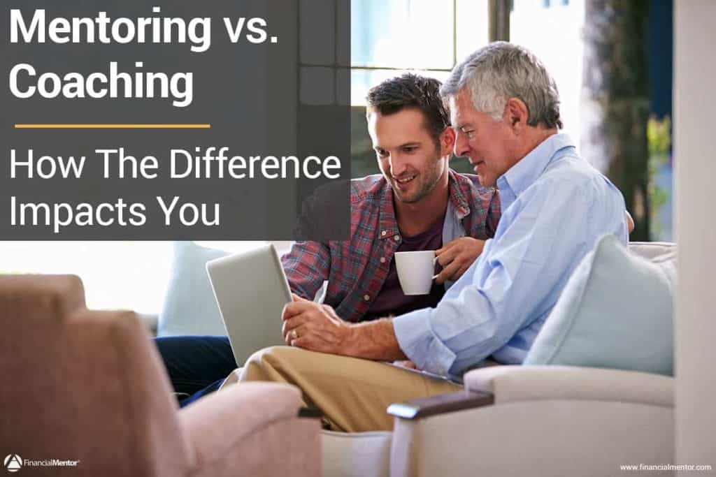 The difference between mentoring and coaching image
