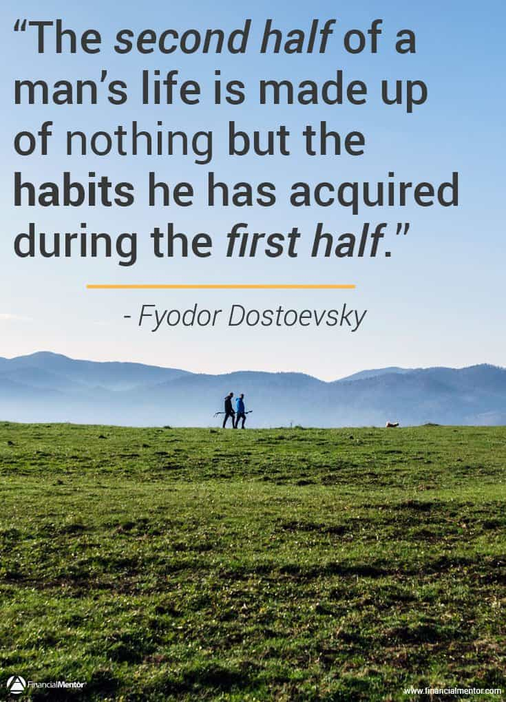 What's stopping you from creating wealth? You need to develop the habits first. image