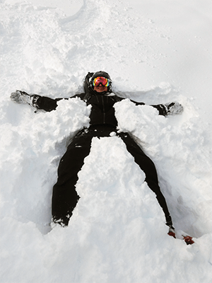 Photo of Todd Tresidder in the snow