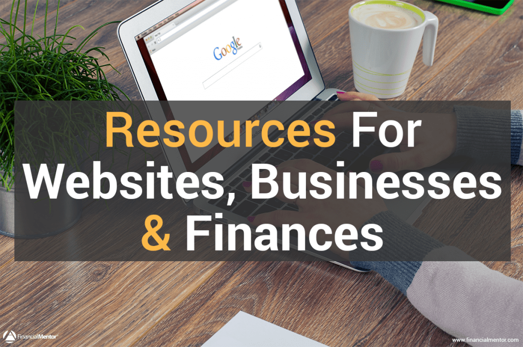 Use these resources and tools to help you do more with your website, business, and finances.