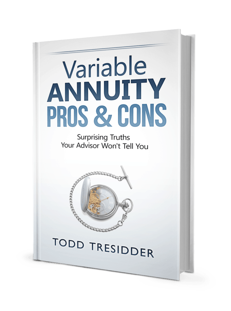 Cover for Variable Annuity Pros and Cons - Surprising Truths Your Advisor Won't Tell You book