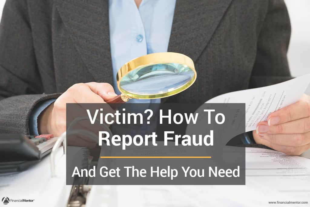 How to report fraud image