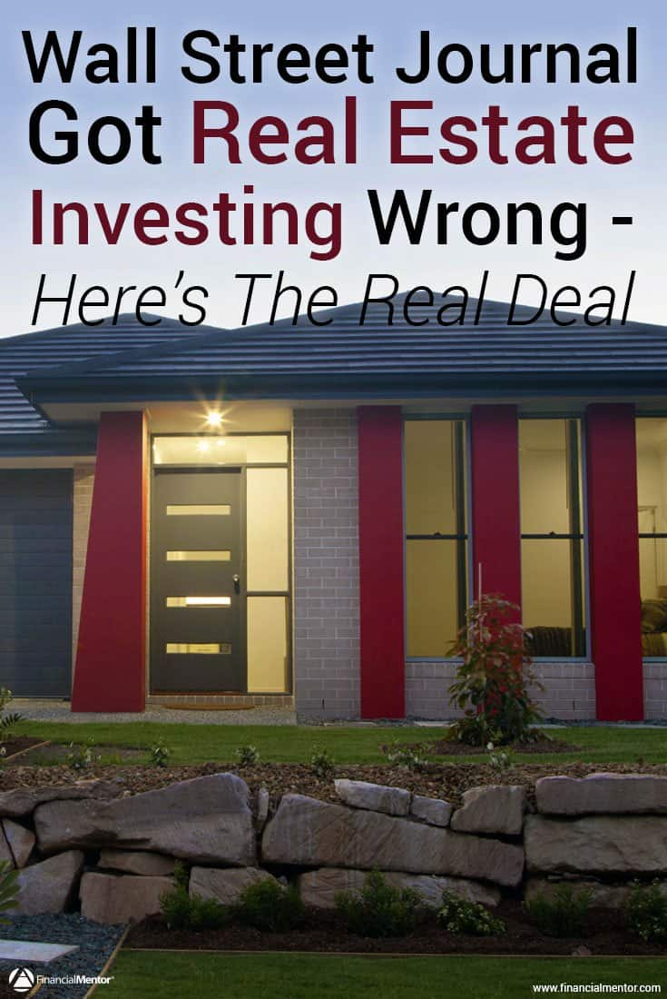 The Wall Street Journal published an oversimplified analysis of real estate investment returns since 1981 that completely misuses statistics.