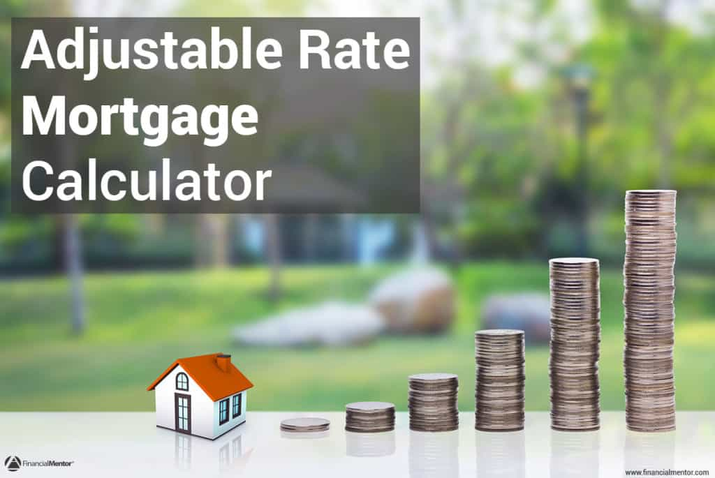 adjustable rate mortgage calculator image