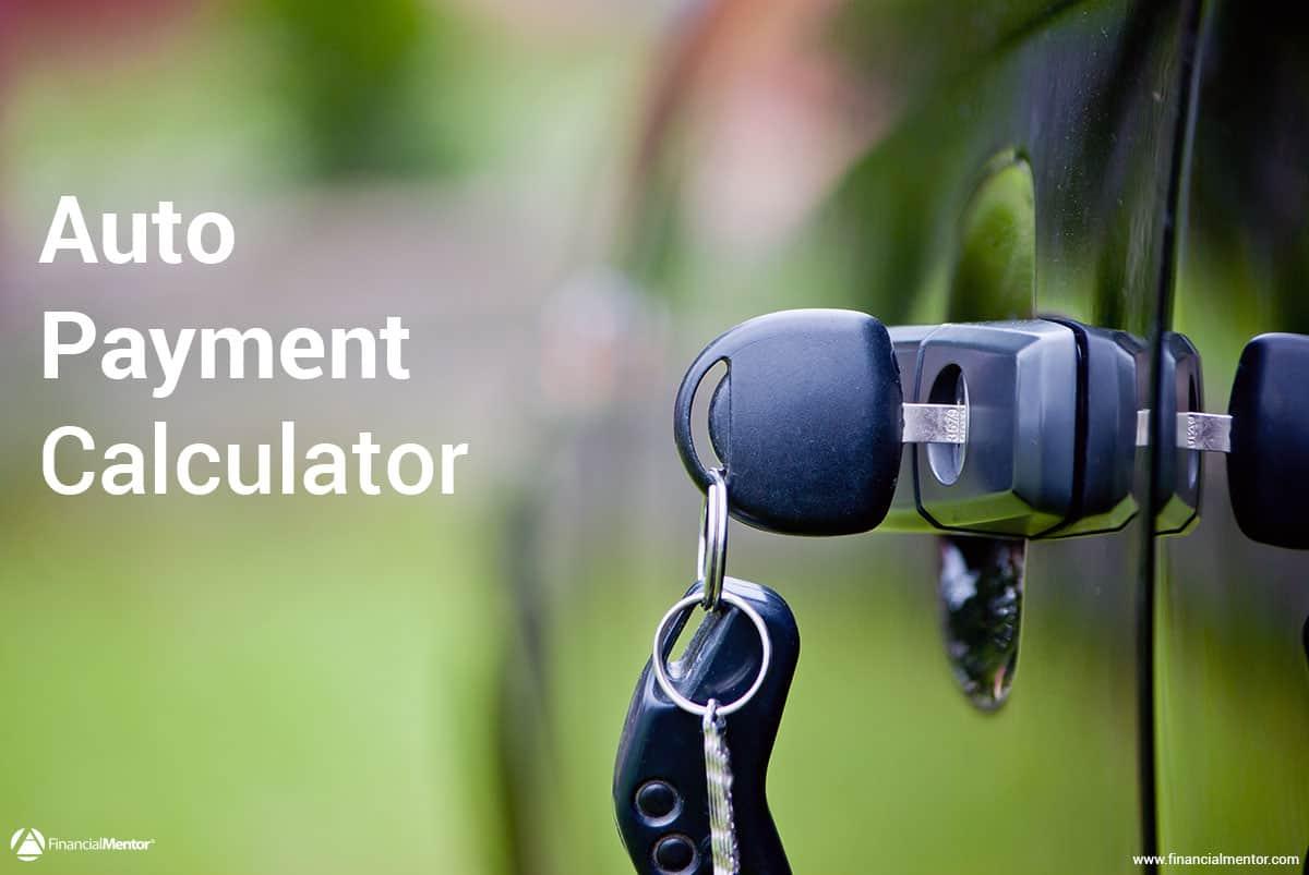 auto payment calculator